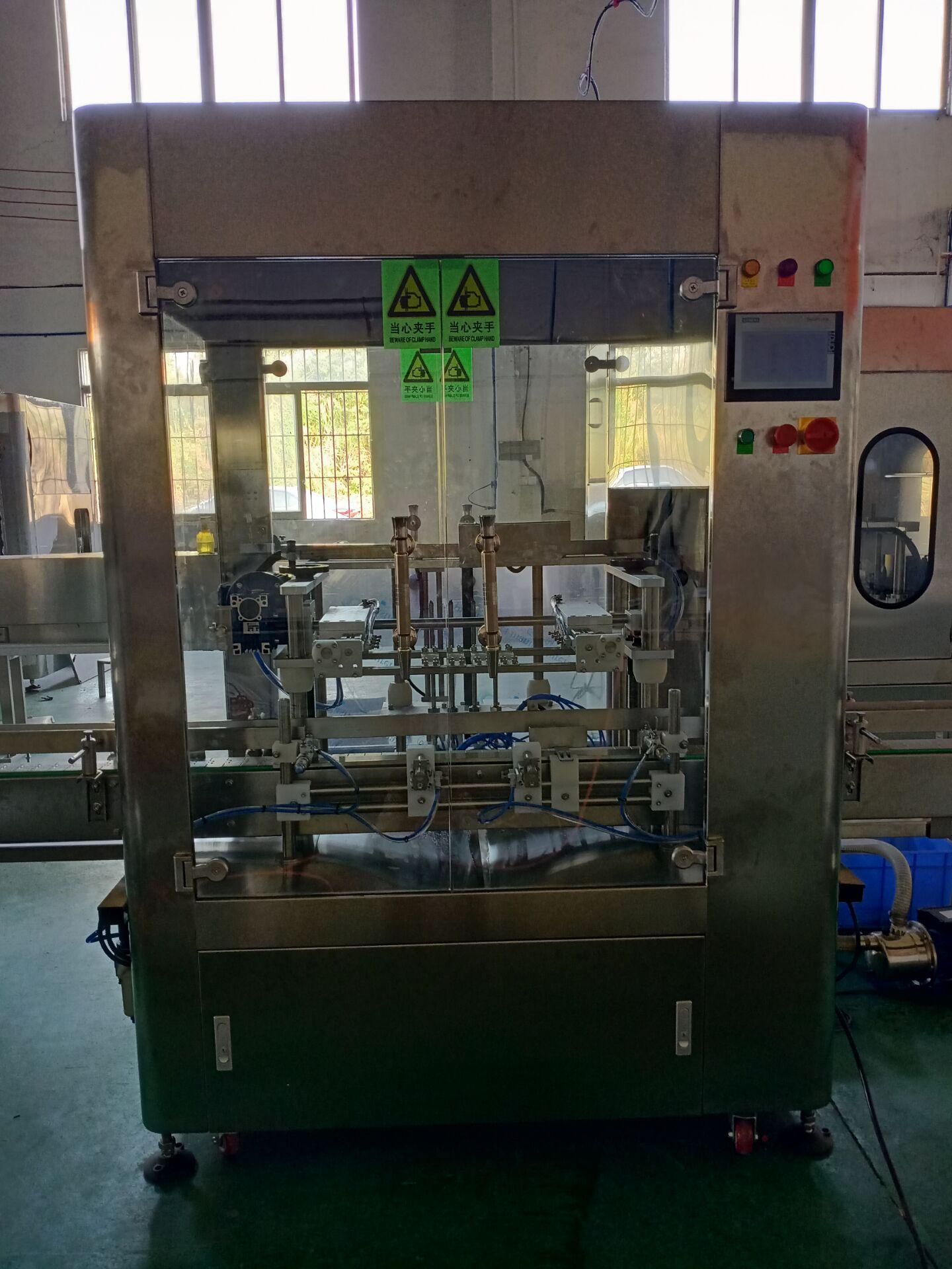 消毒液灌装机生产线价格介绍