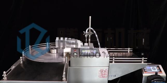 自动理瓶灌装机