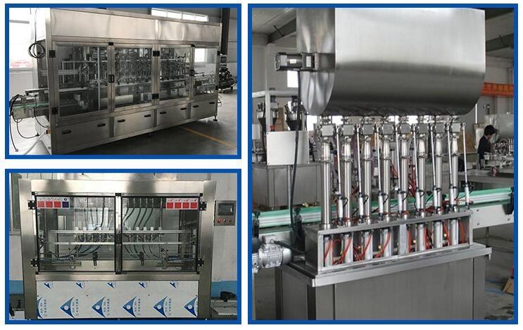 印尼客户全自动桶装粉剂灌装机生产线投产使用