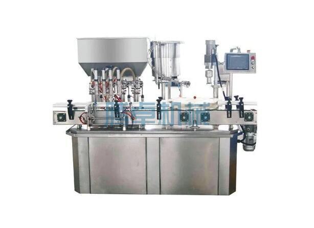 膏体灌装旋盖机工作原理和流程